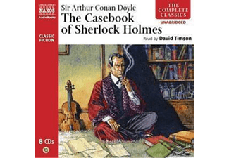 THE COMPLETE CASEBOOK OF SHERLOCK HOLMES - 8 CD -