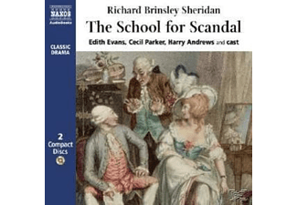 THE SCHOOL FOR SCANDAL - 2 CD -