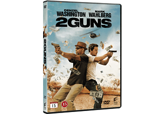 2 Guns Action DVD