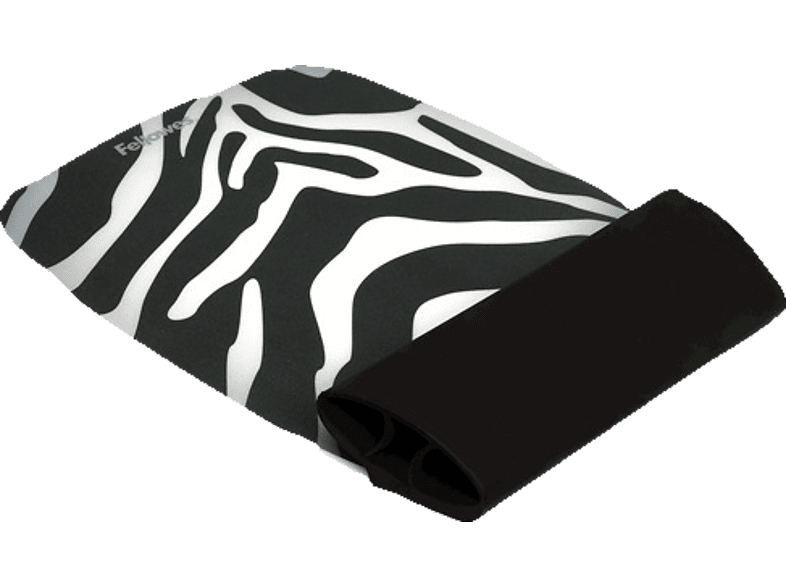 FELLOWES Silicone Wrist Rocker - Zebra Pattern - (9362301) computing   tablets   offline αξεσουάρ υπολογιστών άλλα αξεσουάρ laptop  tablet