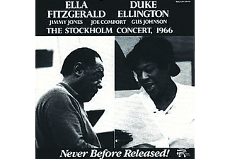 Ella Fitzgerald, Ella Fitzgerald Duke Ellington - The Stockholm Concert, 1966 - (CD)