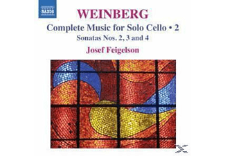 Josef Feigelson - Werke Für Solo Cello Vol.2 - (CD)
