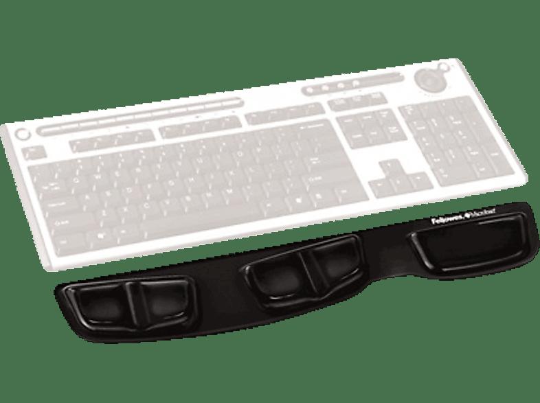 FELLOWES Health-V™ Crystal Keyboard Palm Support Black - (9183201) computing   tablets   offline αξεσουάρ υπολογιστών άλλα αξεσουάρ βιβλία τηλεφωνί