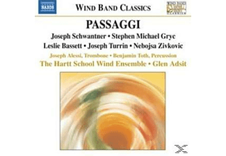 Hartt School Wind Ensemble, Adsit/Hartt School Wind Ensemble - Passaggi - (CD)