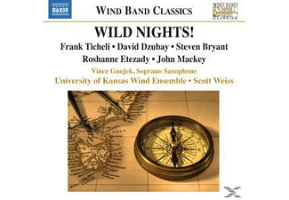 VARIOUS, Gnojek/Weiss/University Of Kansas - Wild Nights! - (CD)