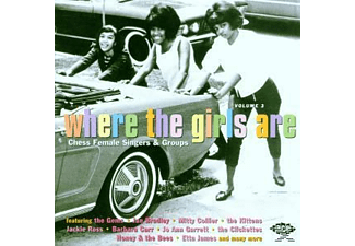 VARIOUS - Where The Girls Are Vol.3 [CD]