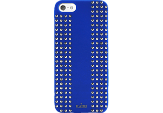 PURO Backcover Rock blauw (IPC5ROCK1BLK)