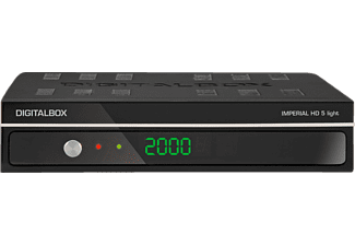 DIGITALBOX Imperial HD 5 light Sat-Anlage (DVB-S, Schwarz)