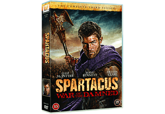 Spartacus: War of the Damned Action DVD