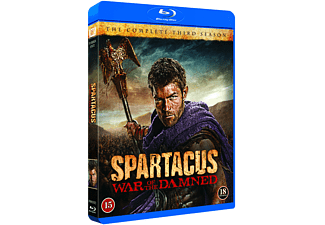 Spartacus: War of the Damned Action Blu-ray