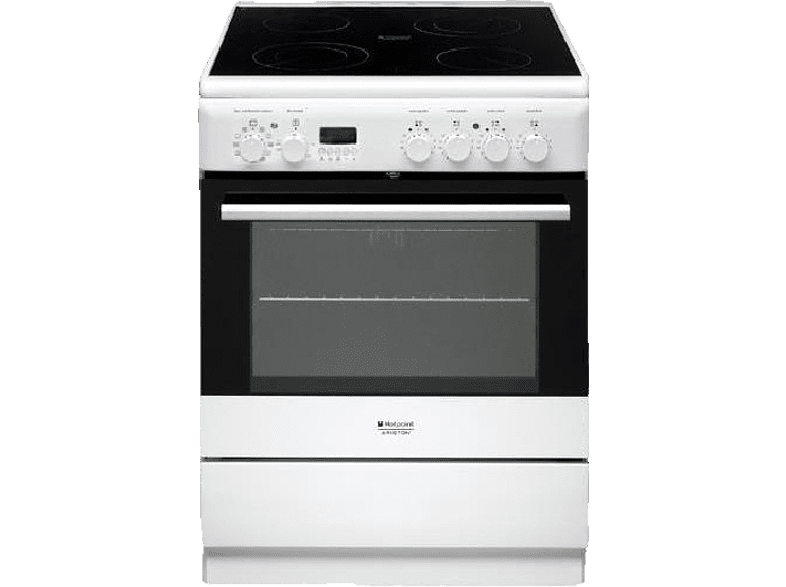 HOTPOINT-ARISTON H6VMH6A(W)/GR οικιακές συσκευές   offline κουζίνες ηλεκτρικές κουζίνες