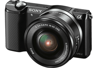 SONY ILCE-5000LB Black με φακό 16-50mm