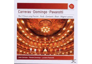 Various - Pavarotti - Domingo - Carreras: Best Of The 3 Tenors [CD]