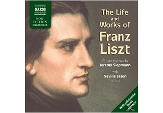 THE LIFE AND WORKS OF FRANZ LISZT - 2 CD -
