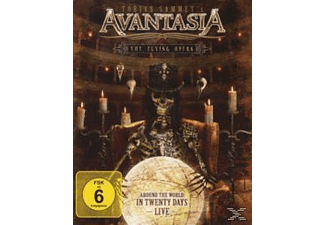 Avantasia - Flying Opera-Around The World In 20 Days-Live- [Blu-ray]