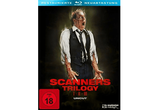 Scanners 1-3 Trilogie (3 DVDs) [Blu-ray]