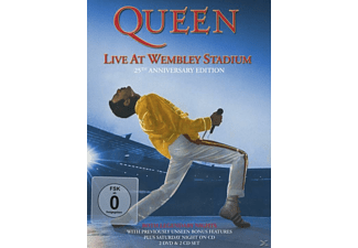 Queen - Live At Wembley (25th Anniversary) (Ltd.Dlx.Edt.) - (DVD + CD)