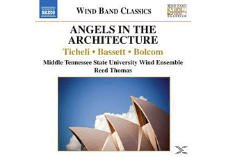 Mtsu Wind Ensemble & Thomas - Angels In The Architecture - (CD)