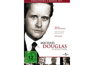 Michael Douglas Box (Hallo, Mr. President / Ich, du und der Andere / The Game) [DVD]
