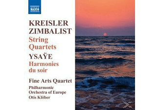 The Fine Arts Quartet, Philharmonic Orchestra Of Europe, Ot Klöber - Streichquartette - (CD)