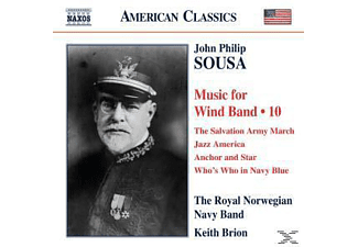 Brion & Royal Norwegian Navy Band - Music for Wind Band Vol.10 - (CD)