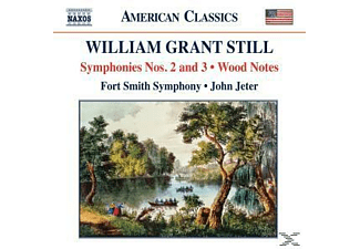John & Fort Smith Symphony Jeter - Sinfonien 2+3/Wood Notes - (CD)