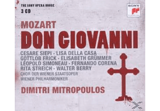 Wiener Philharmoniker, Dimitri Mitropoulos - Mozart: Don Giovanni-The Sony Opera House [CD]