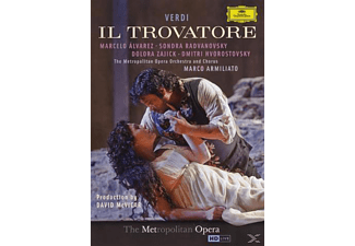 The Metropolitan Opera Orchestra And Chorus - Il Trovatore - (DVD)