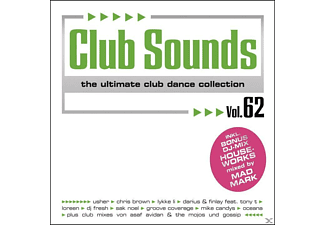 VARIOUS - Club Sounds Vol.62 [CD]