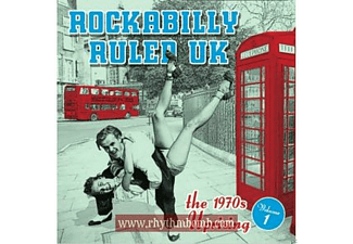 Various - Rockabilly Ruled Uk Vol.1 [CD]
