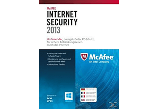 McAfee Internet Security 2013 - 1 Lizenz
