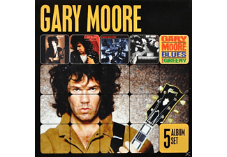 Gary Moore - 5 Album Set [CD]