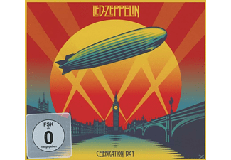 Led Zeppelin - Celebration Day (2cd + Blu-Ray + Dvd) (Deluxe Edition) - (CD + Blu-ray + DVD)