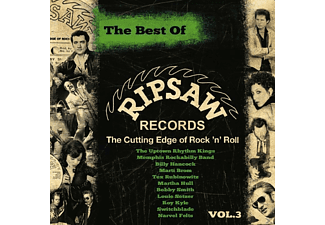 VARIOUS - The Best Of Ripsaw Records Vol.3 - (CD)
