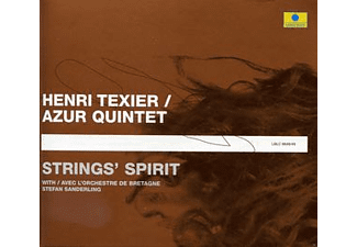 Henri Azur Quintet Texier - Strings' Spirit [CD]