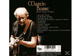 Martin Barre - Away With Words [CD]