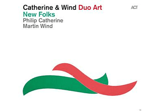 Philip Catherine, Martin Wind - New Folks [CD]