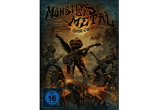 VARIOUS - Monsters Of Metal Vol. 9 - (Blu-ray)