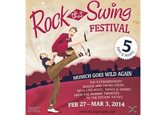 Various - Rock That Swing-Festival Compilation [CD]