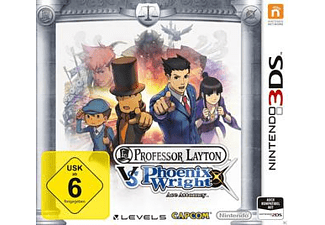 Professor Layton vs. Phoenix Wright: Ace Attorney [Nintendo 3DS]