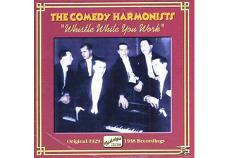 The Comedy Harmonists - Whistle While You Work - (CD)