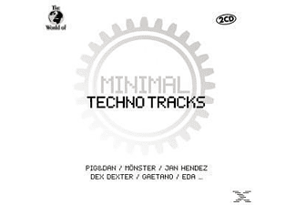 VARIOUS - Minimal Techno Tracks [CD]