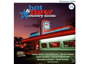 VARIOUS - Hot & New Country Music - (CD + Enhanced CD)