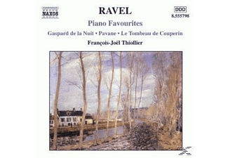 Francois Thiollier, Thiollier Francois Joel - Piano Favourites - (CD)