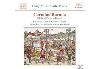 Ensemble Oni Wytars, Ensemble Unicorn/Oni Wytars/+ - Carmina Burana - (CD)
