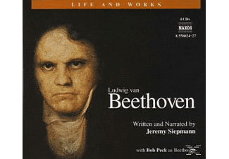 Life & Works-Beethoven - 4 CD + Buch - Hörbuch