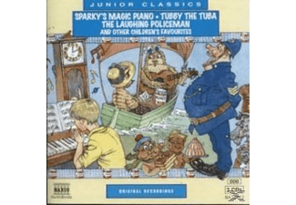 SPARKY S MAGIC PIANO/TUBBY THE - 2 CD - Kinder/Jugend