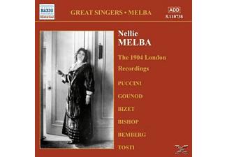 Nellie Melba - The 1904 London Recordings - (CD)