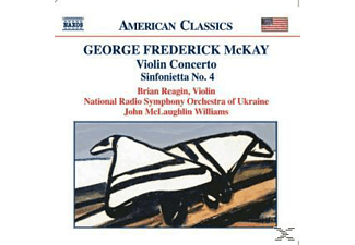 Nso Ukraine, Reagin, Mclaughlin Williams, Reagin/McLaughlin Williams/NSO UKraine - Violinkonzert/Sinfonietta 4 - (CD)