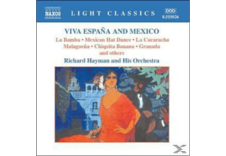 Richard & His Orchestra Hayman, Richard Hayman - Viva Espana And Mexico - (CD)
